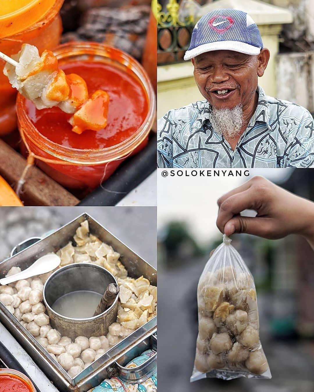 Kuliner Bakso Ojek Pak Ahmad Khusno Cemani Di Solo Update Solo Info